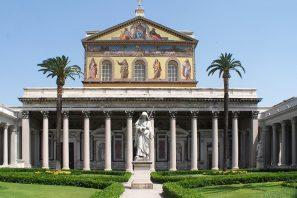 Roma, alle tombe dei SS. Pietro e Paolo